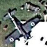 "FW 190A ""White 14"" NX190RF (Google Maps)"