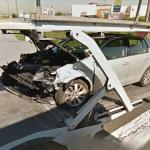 Smashed Car (StreetView)