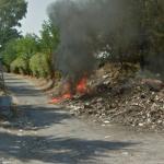 Trash on Fire (StreetView)