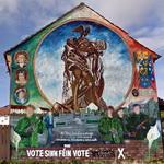 Political murals in Belfast (StreetView)