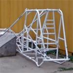 Race car chassis (StreetView)