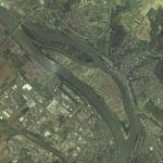 Insel Niederwerth (Google Maps)