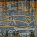 Train Mural by John Ellsberry (StreetView)