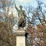 Sándor Petőfi's statue (StreetView)