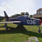 Republic F-84F Thunderstreak (StreetView)