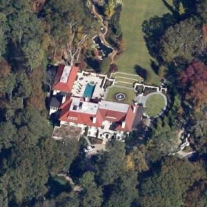Arthur Blank's House (Google Maps)
