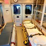 Inside an ambulance (StreetView)