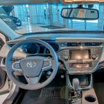 Inside a Toyota (StreetView)