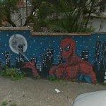 Spiderman mural (StreetView)