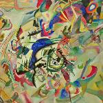 Composition VII by Wassily Kandinsky (1913) (StreetView)