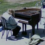 Pianist in Venice Beach (StreetView)