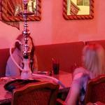 Smoking hookah (StreetView)