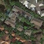 Paul Hazen's house (Google Maps)