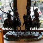 Cowboy sculpture (StreetView)