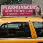Flashdancers Gentlemen's Club ad (StreetView)