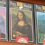 Mona Lisa jigsaw puzzle (StreetView)