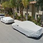 Covered cars (StreetView)