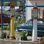 Antique gas pumps (StreetView)