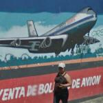 Airline mural