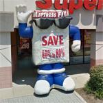 Mattress Firm mascot (StreetView)