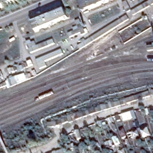 Belaya Kalitva train explosion site (May 9, 2013) (Google Maps)