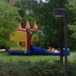 Bouncy castle (StreetView)
