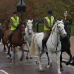 Riding through Hyde Park (StreetView)