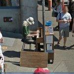 Jonny Hahn, Pike Place Market Piano player (StreetView)
