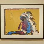 'Indian with Pistol' by Frita Scholder (StreetView)