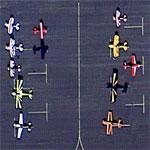 Aerobatic Planes at Lamar Municipal Airport