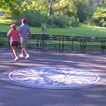 Strawberry Fields (John Lennon memorial) (StreetView)