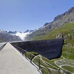 Oberaarsee reservoir (StreetView)