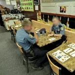 Seattle policemen having lunch (StreetView)