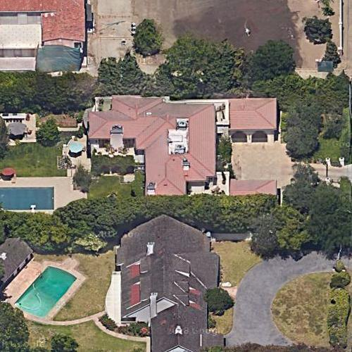 Patricia Heaton's House (Google Maps)