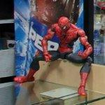 Spiderman action figure (StreetView)