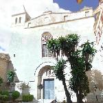 Cloister and church Sant Vicenç Ferrer