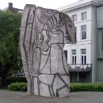 'Sylvette' by Pablo Picasso (StreetView)