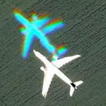 Another ghost plane (Google Maps)