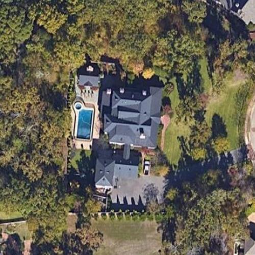 Eli Manning's House In Oxford, MS (Google Maps