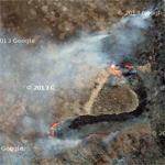 Brush fire (Google Maps)