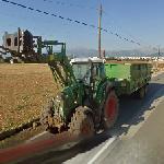 Fendt tractor (StreetView)