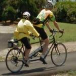 Tandem bicycle (StreetView)
