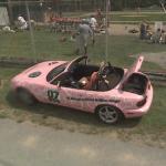 Pink Racecar