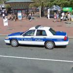 Boston Police Car