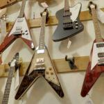 Gibson Flying V guitars (and bass) (StreetView)