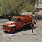 Tanker fire truck