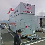 Honda Racing truck