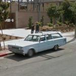 Vintage Plymouth Wagon (StreetView)