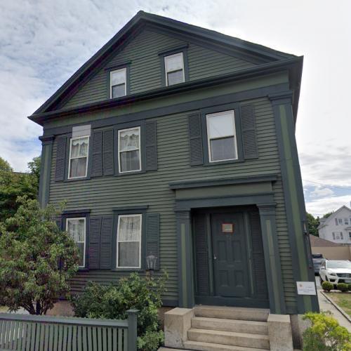 Lizzie Borden axe murder home (StreetView)