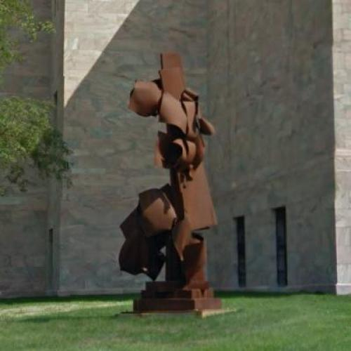 'Moment' by Albert Paley (StreetView)
